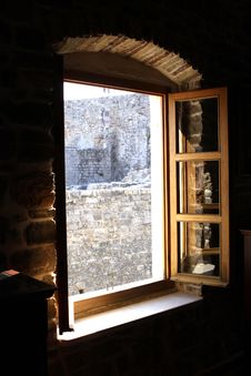 Free Behind An Ancient Window Stock Image - 16231591