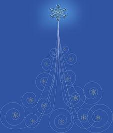 Free Christmas Tree Background Royalty Free Stock Photo - 16231805