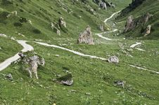 National Park Vanoise Royalty Free Stock Photo