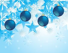 Free Blue Bauble Royalty Free Stock Image - 16232036