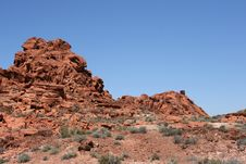 Free Valley Of Fire Nevada Royalty Free Stock Photos - 16232398