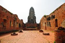 Free Ayutthay Historical Park In Thai Royalty Free Stock Photography - 16232517