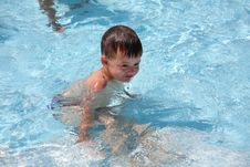 Free The Boy In Water Stock Photos - 16232873
