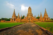 Free Ayutthay Historical Park In Thai Stock Photography - 16233402
