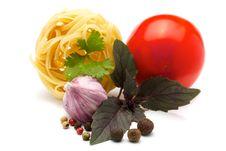 Free Ingredients For Pasta Stock Photo - 16233450