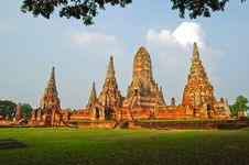 Free Ayutthay Historical Park In Thai Stock Images - 16233514
