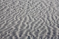Free Texture Of White Sand Dunes Royalty Free Stock Photo - 16234285