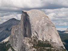 Half Dome In Yosemite