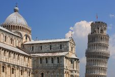 Free Leaning Tower Of Pisa With Stock Photos - 16234793