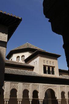 Free Alhambra Detail Royalty Free Stock Photos - 16234908