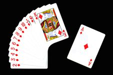 Free Play Card. Royalty Free Stock Photos - 16235308