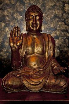 Free Backlit Buddha Icon Stock Photos - 16235553