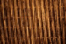 Free Close Up Of Bamboo Wall Texture Stock Photo - 16235800
