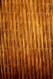 Free Close Up Of Yellow Bamboo Texture Royalty Free Stock Image - 16235846