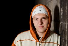 Free Portrait Of Teenager At Night Royalty Free Stock Images - 16236939