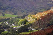 Free A Village In The English Lake District Stock Image - 16236941