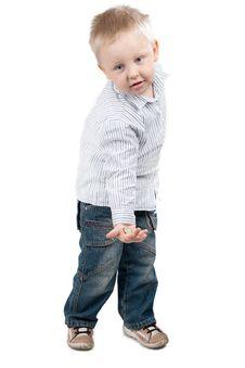 Free Boy With Money Royalty Free Stock Photos - 16237258