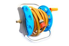 Free Coil Garden Hose Stock Images - 16238904