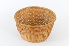 Free Empty Basket Royalty Free Stock Photography - 16238947