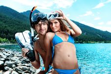 Free Snorkelling Gear Royalty Free Stock Photos - 16239558