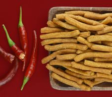 Free Chilli Sticks Royalty Free Stock Photography - 16239567
