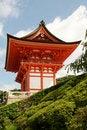 Free Kiyomizu Gate Royalty Free Stock Image - 16244106