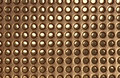 Free Perforated Metal Background Royalty Free Stock Photos - 16247548