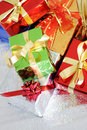 Free Multi-colored Gift Boxes Stock Images - 16247824