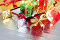 Free Multi-colored Gift Boxes Royalty Free Stock Images - 16247889