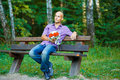 Free Guy With Bouquet Waiting For His Girlfriend Outsid Royalty Free Stock Photos - 16248968