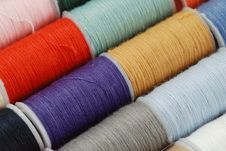 Free Colorful Threads Stock Images - 16240204