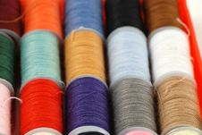 Free Colorful Threads Royalty Free Stock Image - 16240216