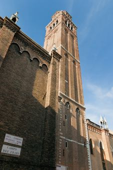 Free San Polo Church Located At Venice, Italy Royalty Free Stock Images - 16241069