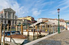 Free Scalzi Bridge Located At Venice, Italy Royalty Free Stock Photos - 16241258