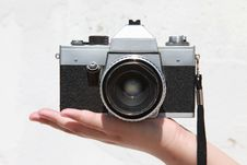 Free Old Praktica Camera Stock Images - 16241384
