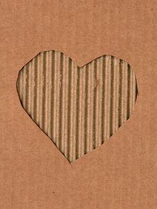 Free Cardboard Heart Stock Photography - 16241982