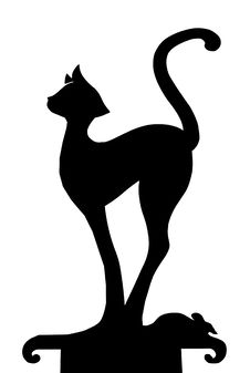 Free Weather Vane Cat Royalty Free Stock Photography - 16242397