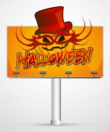 Free Halloween Pumpkin Mask Stock Photo - 16242840