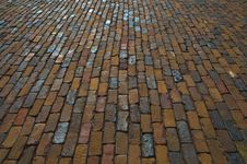 Free Brick Pavement Texture Royalty Free Stock Photography - 16242857