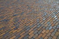 Free Brick Pavement Texture Stock Image - 16242871
