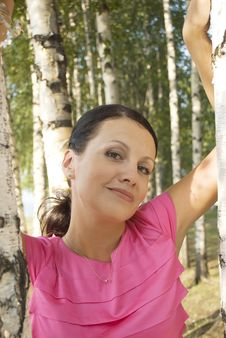 Free Summer Portrait Of A Very Attractive Woman Stock Photo - 16244050
