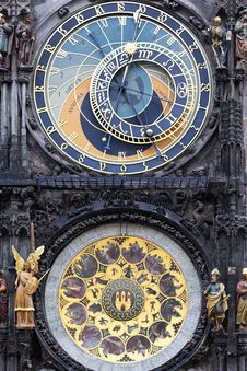 Free Astronomical Clock Stock Photo - 16244120