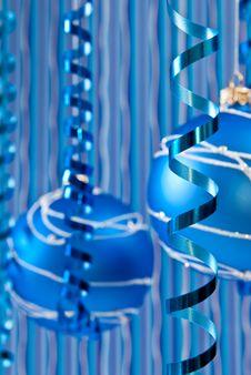 Christmas Ribbons Royalty Free Stock Photo