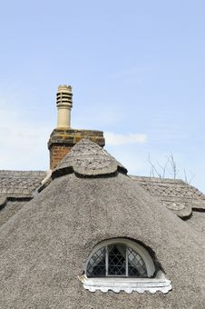 Free Traditional Reed Roofing Royalty Free Stock Images - 16244899