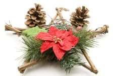 Free Christmas Star Of Wood Stock Photography - 16244962