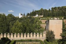 Free Generalife Palace In Granada Stock Photos - 16245263