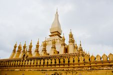 Free Gold Architecture Buddha Pagoda Royalty Free Stock Image - 16245306