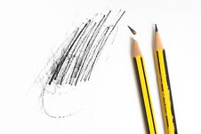 Free Pencils Royalty Free Stock Photography - 16247057