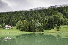 Free The Village Of Le Praz, Close To The Vanoise NP Stock Image - 16247401