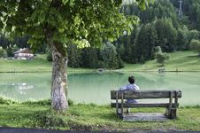 Free The Village Of Le Praz, Close To The Vanoise NP Royalty Free Stock Image - 16247486
